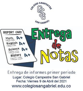 Colegio Campestre San Gabriel 07 abril 2