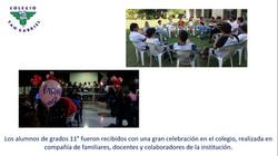 Retiro grado 11 Colegio San Gabriel