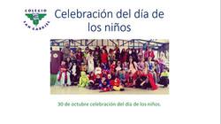 celebración día de los niños San Gab