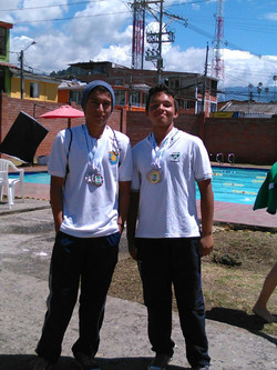 Campeón intercolegiados natación