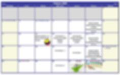 cronograma febrero colegio campestre san