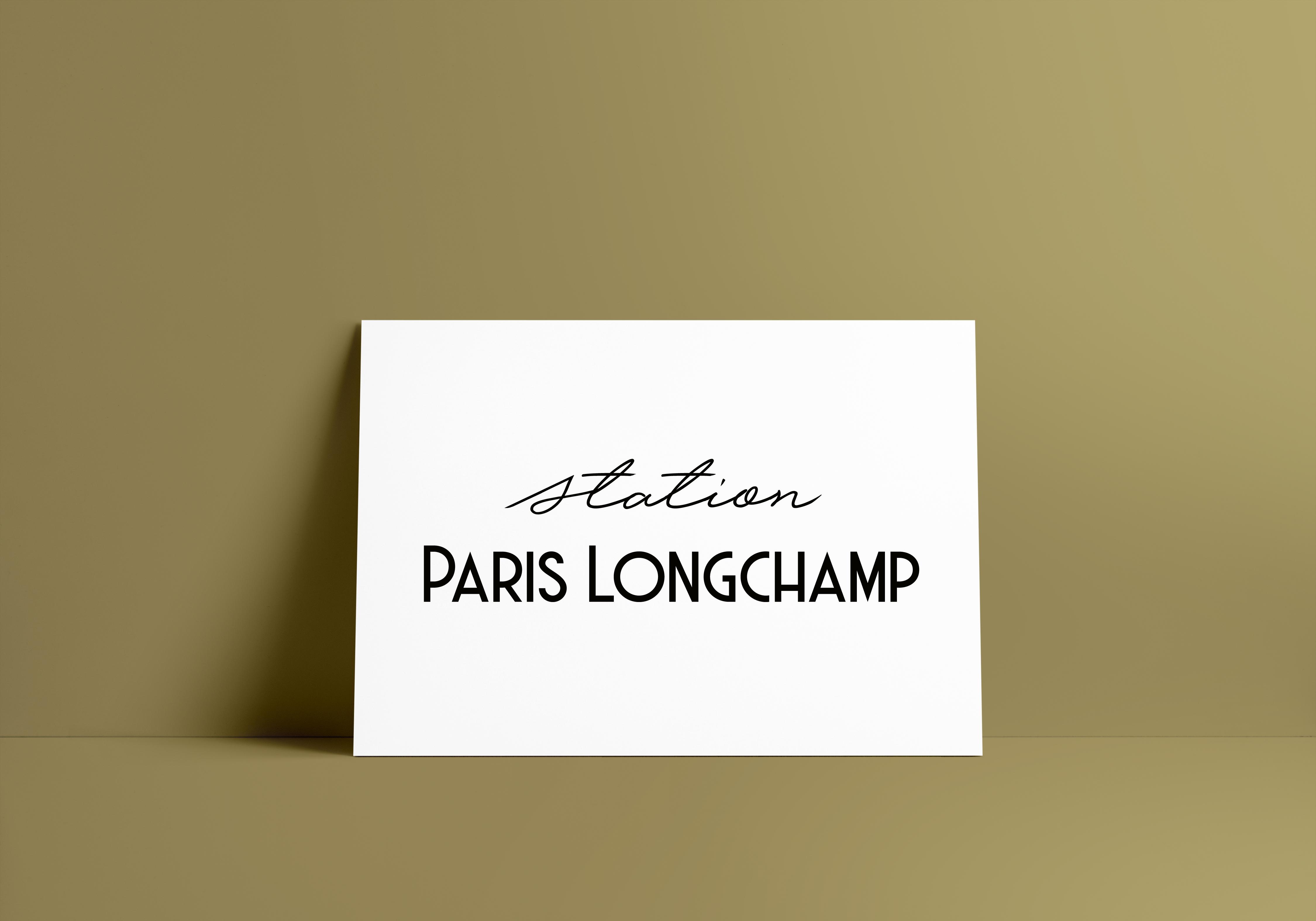 Branding ParisLongchamp