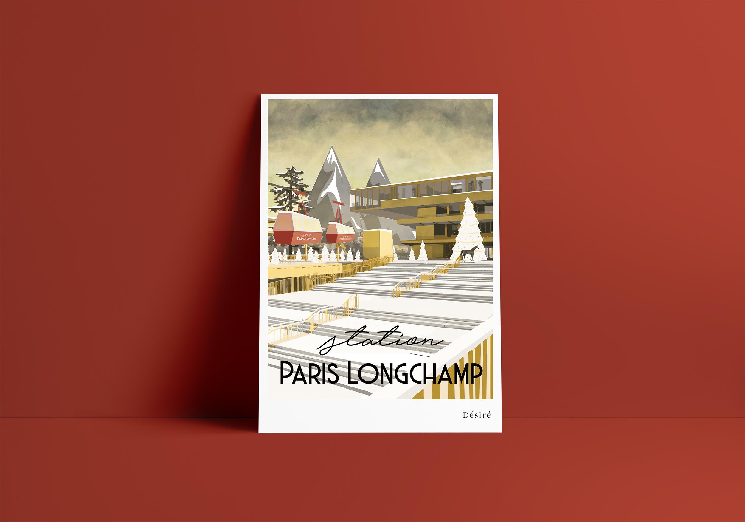 Identité Station ParisLongchamp