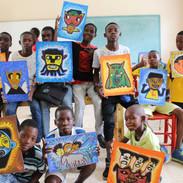 Art Class at ENZ