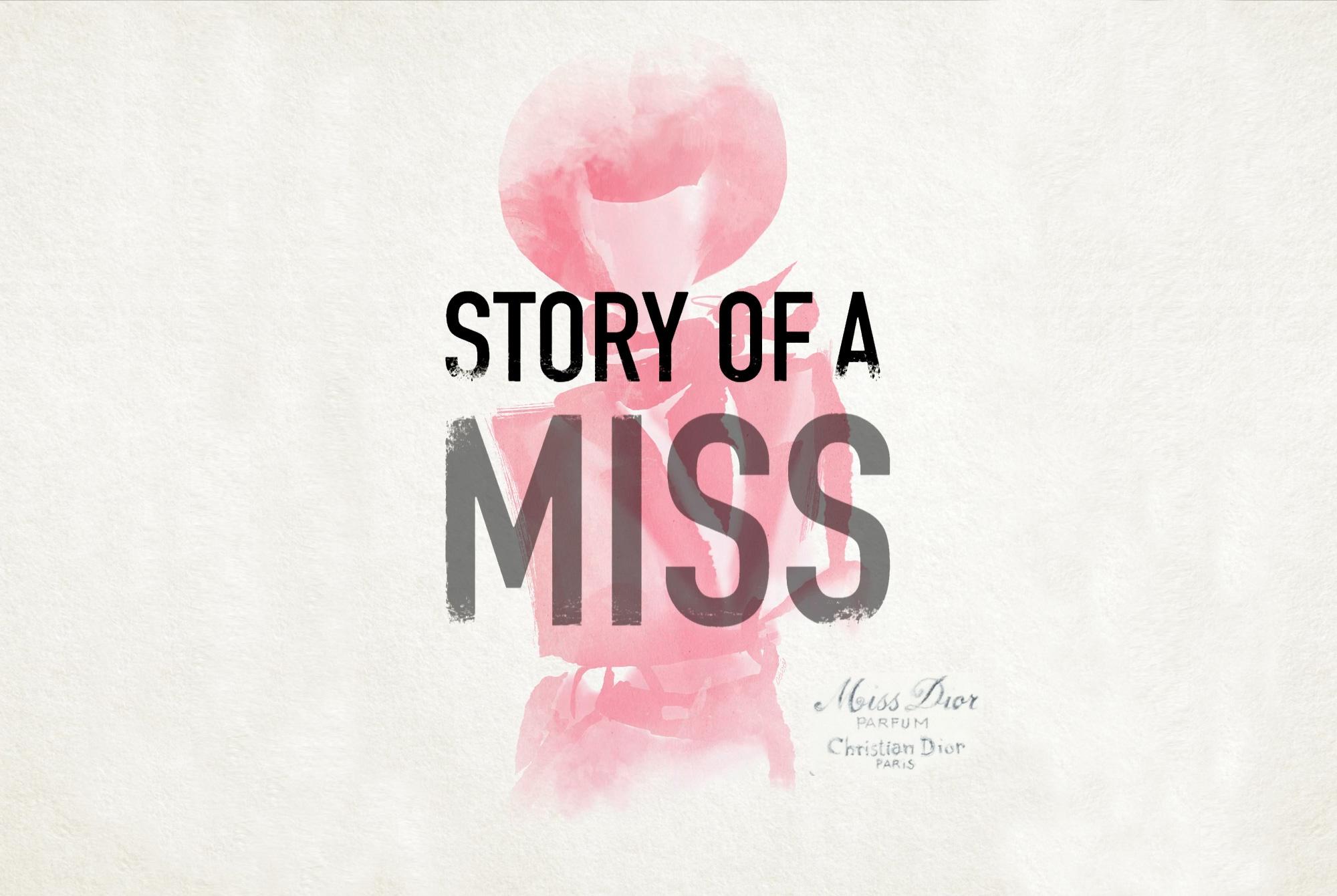 Miss Dior - Aquarelle