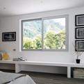 Fenêtre coulissante, PVC, Bois, Alu