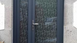 Rénovation de porte d'entrée vitrée