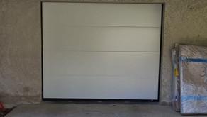 Porte de garage sectionnelle PVC