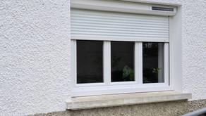 Pose de fenêtres et volets roulants solaire
