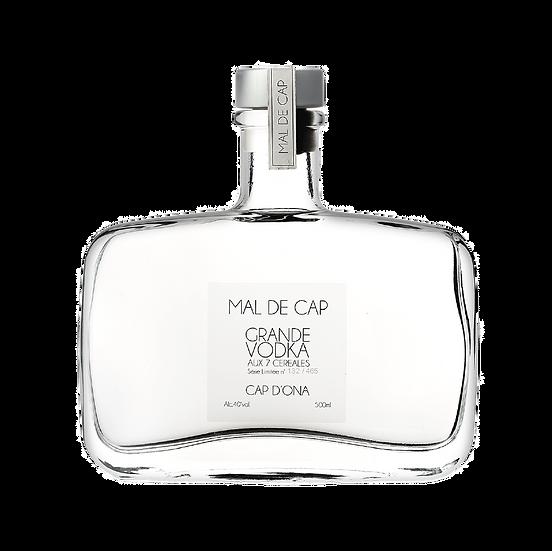 "Vodka 7 céréales ""MAL DE CAP"" Millésime 2014 - 500ml"