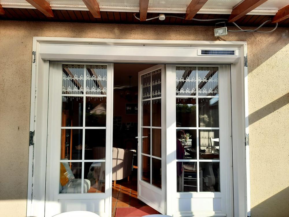 Porte fenêtre PVC, Brive