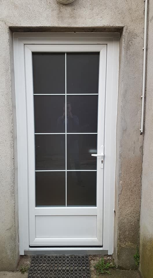 porte entrée vitrée, saint-etienne, Roanne, saint-priest-en-jarez