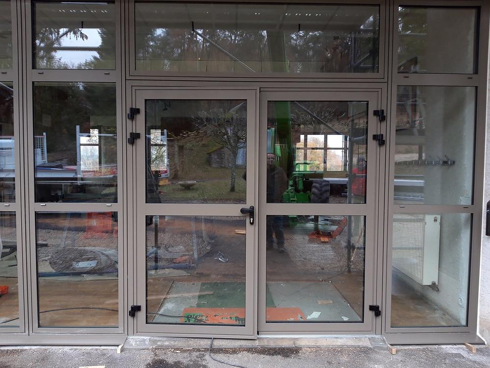 porte entrée vitrée Brive la gaillarde
