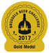 Médaille d'or, brussels beer challenge 2017