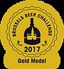 Médaille d'or, brussels beer challenge 2017