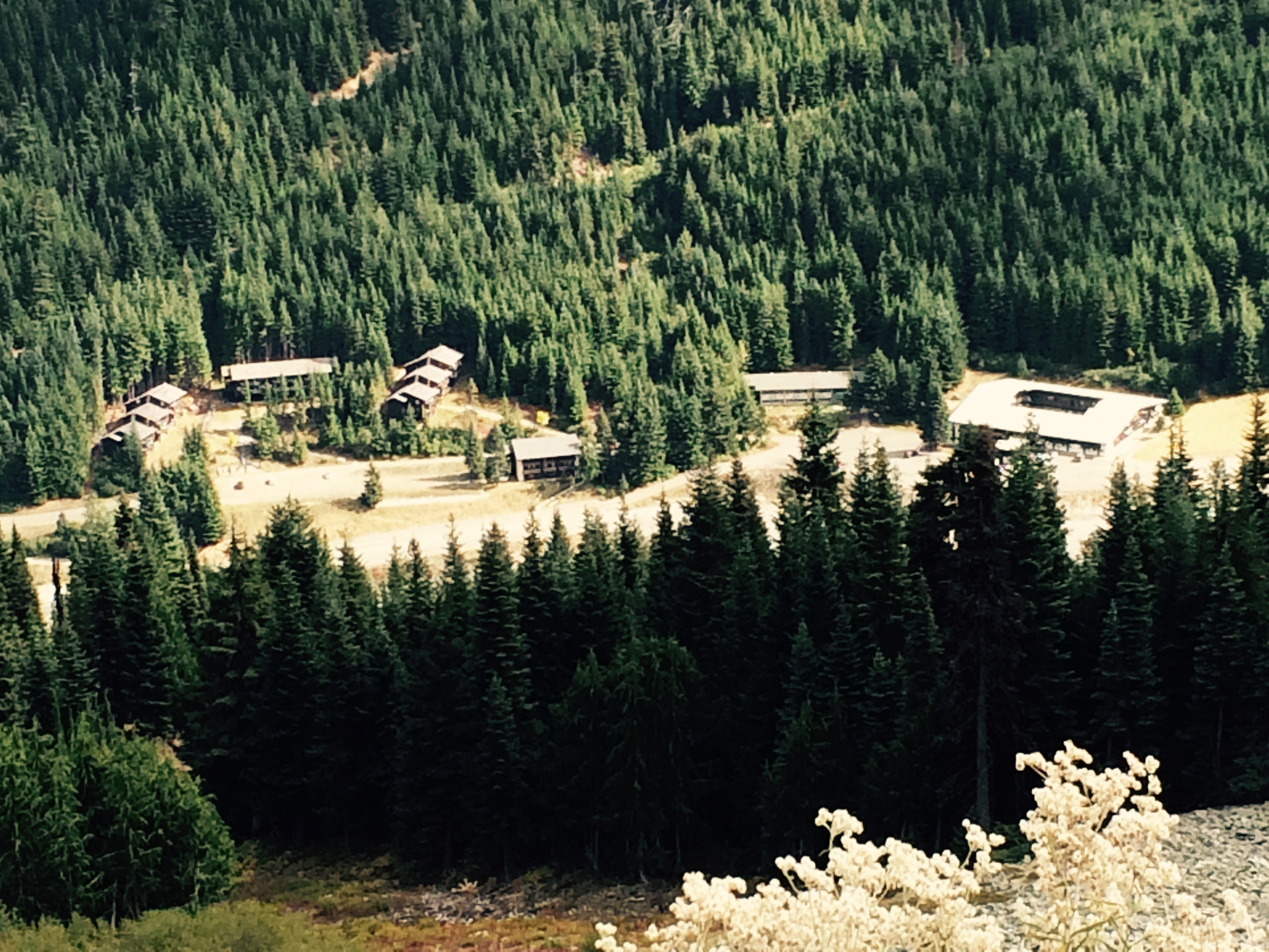 Crystal Chalet Aerial View