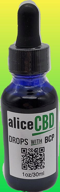 aliceCBD Drops with BCP 2150mg