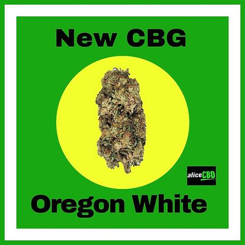 aliceCBD Oregon White CBG Hemp Flower