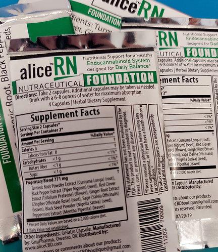 aliceRN Nutraceutical Foundation Capsules