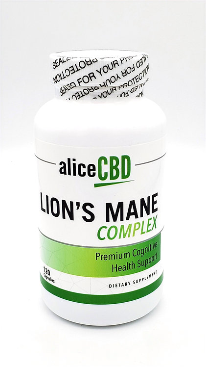 aliceCBD Lion's Mane Complex