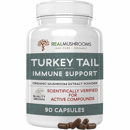 Organic Turkey Tail Extract 90 ct