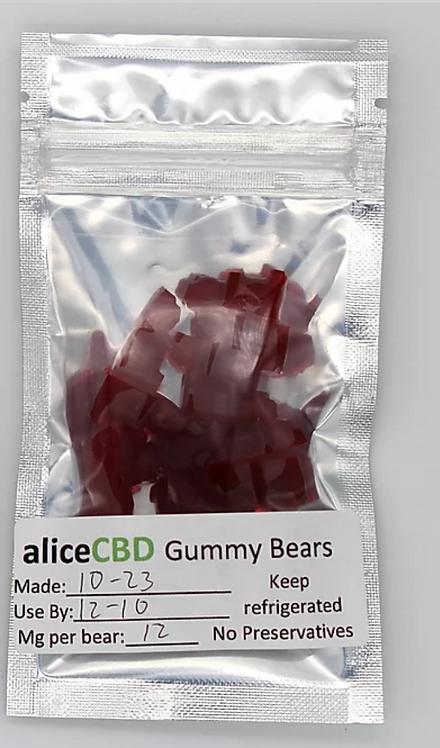 15 aliceCBD Gummy Bears
