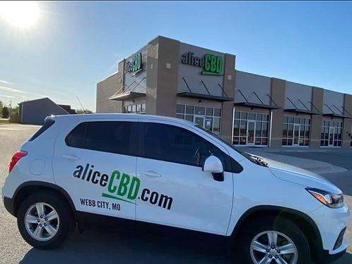 aliceCBD Home Delivery