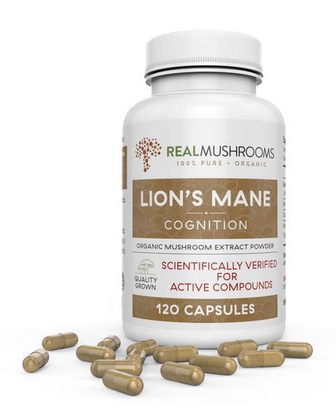 organic lions mane extract 120ct  alicecbd