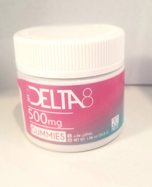 Rift Delta 8 gummies 500mg
