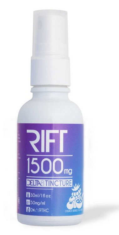 Rift Delta 8 Tincture Spray 750mg and 1500mg