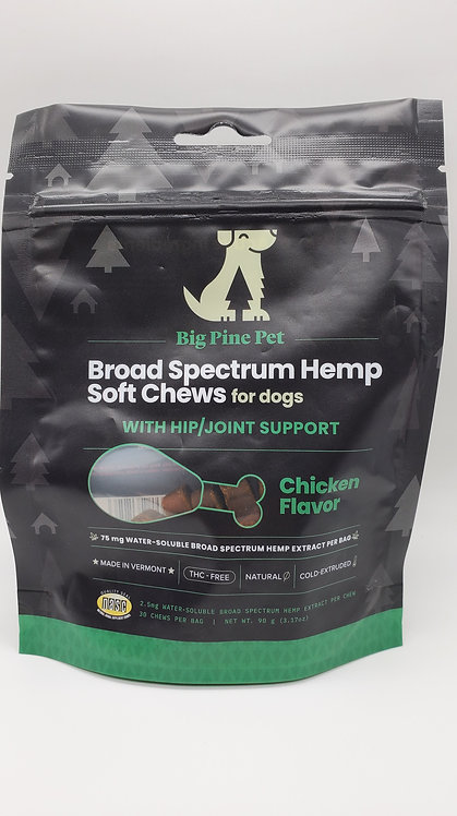 CBD Pet Chews - Hip & Joint Support - 75mg of CBD
