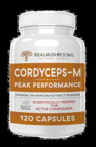 Organic Cordyceps-M Extract Capsules