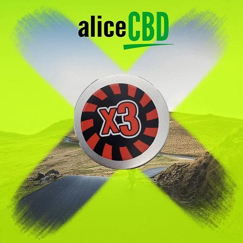 aliceCBD x3 is 3x the Strength of BCP Salve