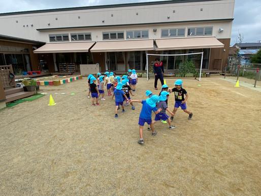 あそびの森 サッカー教室