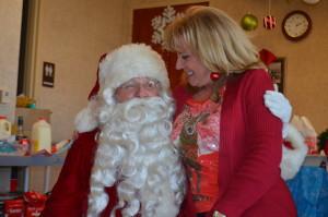 Santa Visits Gulf South