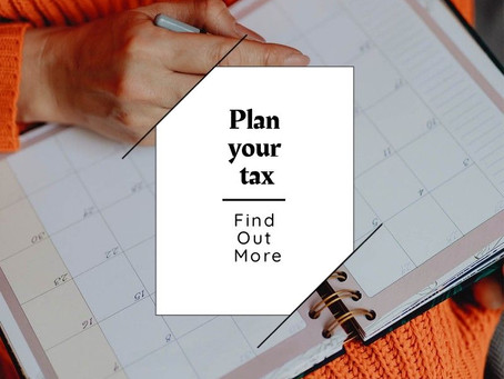 Plan your tax for 2019-20