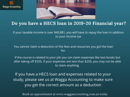 Do you have a HECS loan?