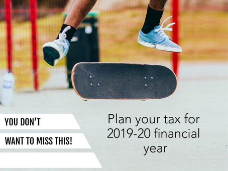 Plan your tax