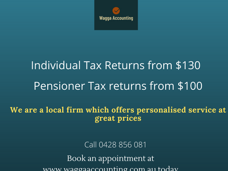 Get your taxes done at great prices!