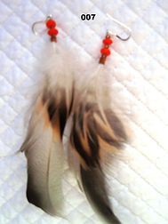 Maria Bucaro Feather Earrings