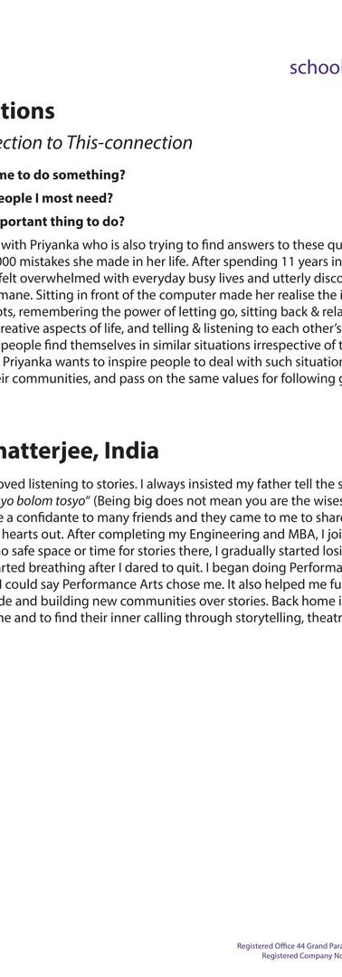 Priyanka Chatterjee, India