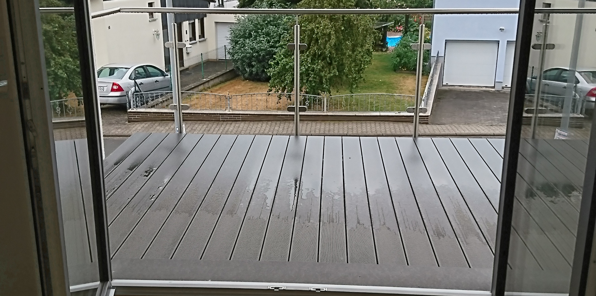Balkon Wohnung 6