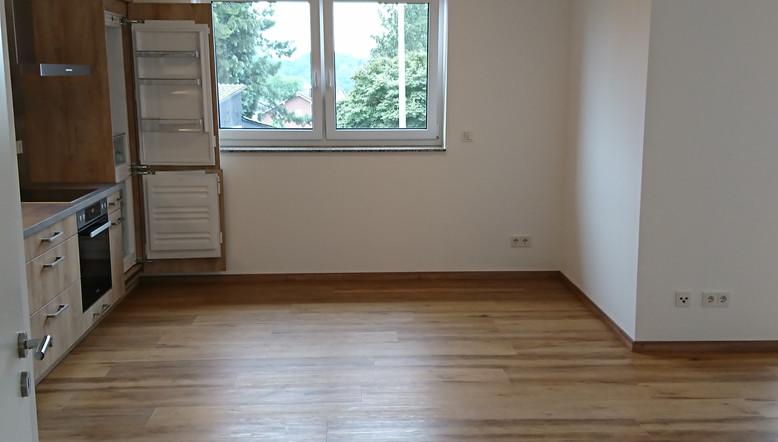 Blick in Küchen- /Wohnbereich Wohnung 6