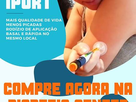 iPort: conforto para quem usa seringa e caneta