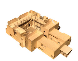 architecture model with arches