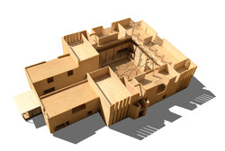 courtyard sustainable architecture