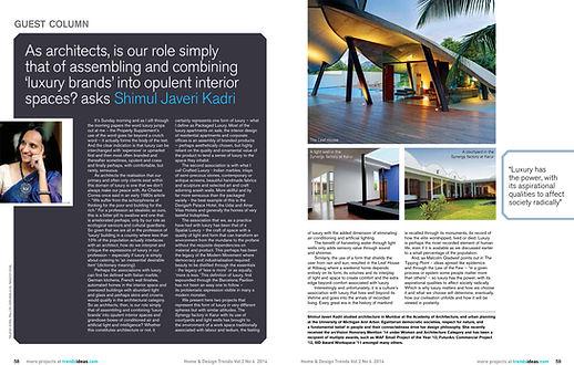SJK Architects Publication
