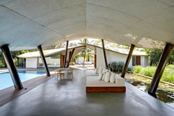 exposed concrete roofs