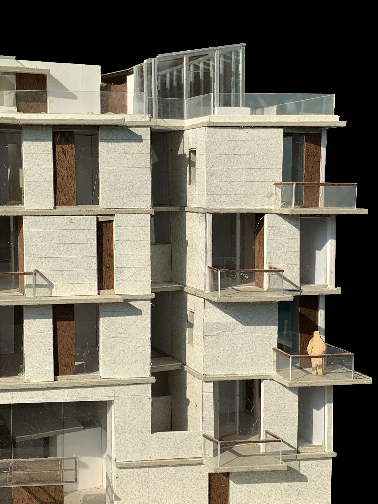 facade design, luxury apartments