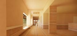 01_ground floor registration corridor